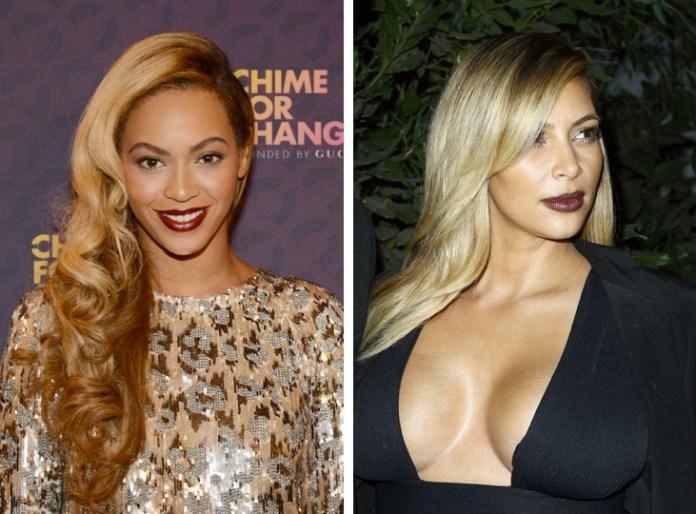 Beyonce e Kim Kardashian