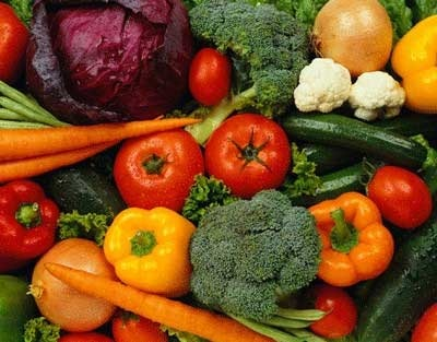 verdure e ortaggi antiossidanti