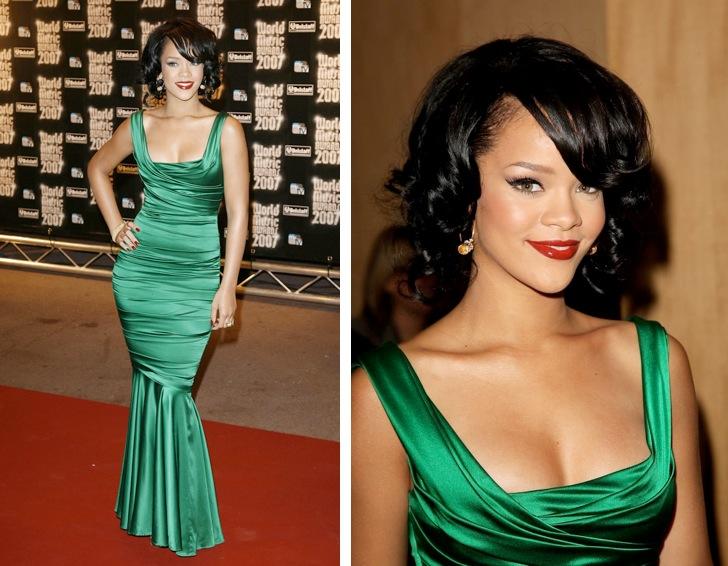 Come truccarsi con un vestito verde tiffany
