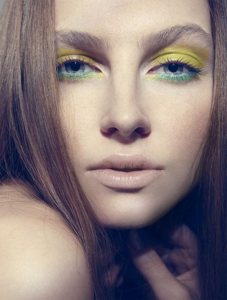 yellow-eye-makeup-look