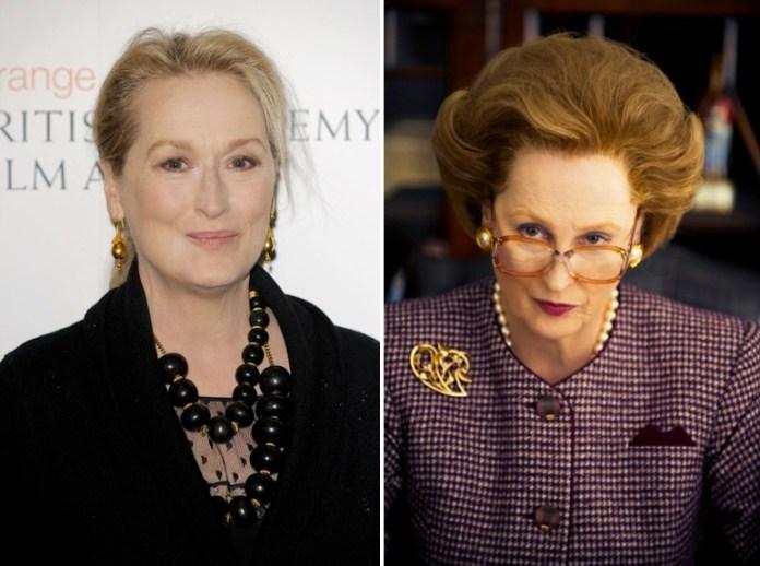 Meryl Streep nei panni di Margareth Thatcher, primo ministro britannico dal 1979 al '90