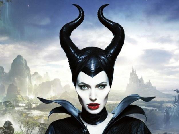 Trucco prostetico su Angelina in Maleficent