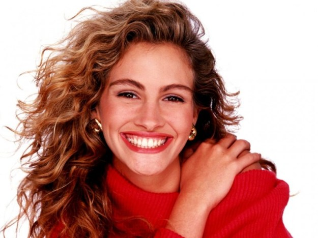 ricci volumonosi e un sorriso contagioso per la stupenda Julia Rberts!