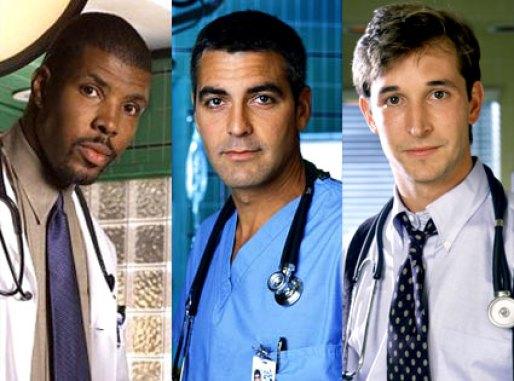 E.R. con George Clooney!