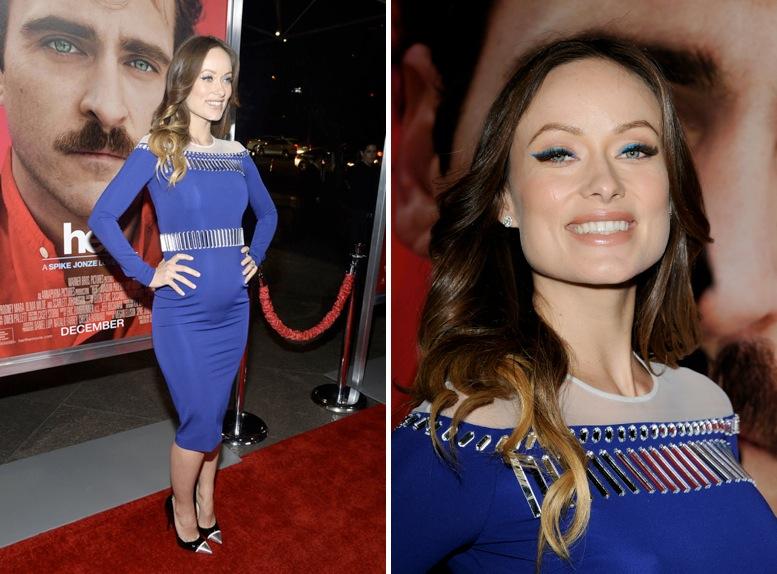 Trucco per vestito blu e rosso