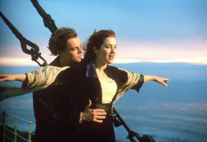 Leo e Kate in una delle scene più famose!