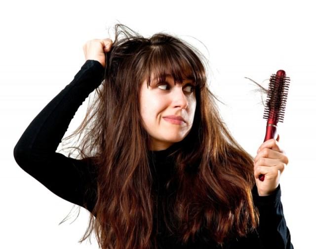hair-brushing