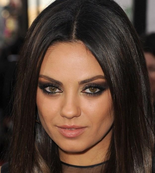 mila kunis makeup looks and breakdown 1