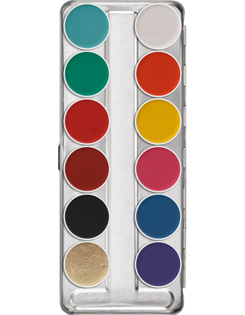 Aquacolor Palette 12 Farben 1104 copy