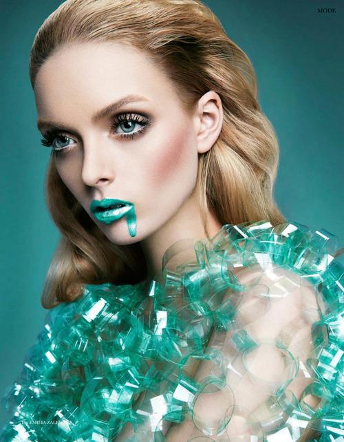 Blue-Green-Lipstick