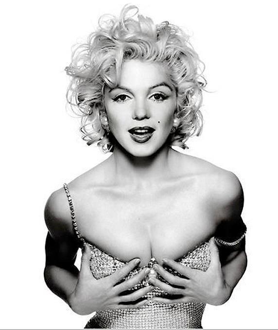Tutte le facce di Marilyn  le star che si sono trasformate nella ... 4d67c4bd68f1