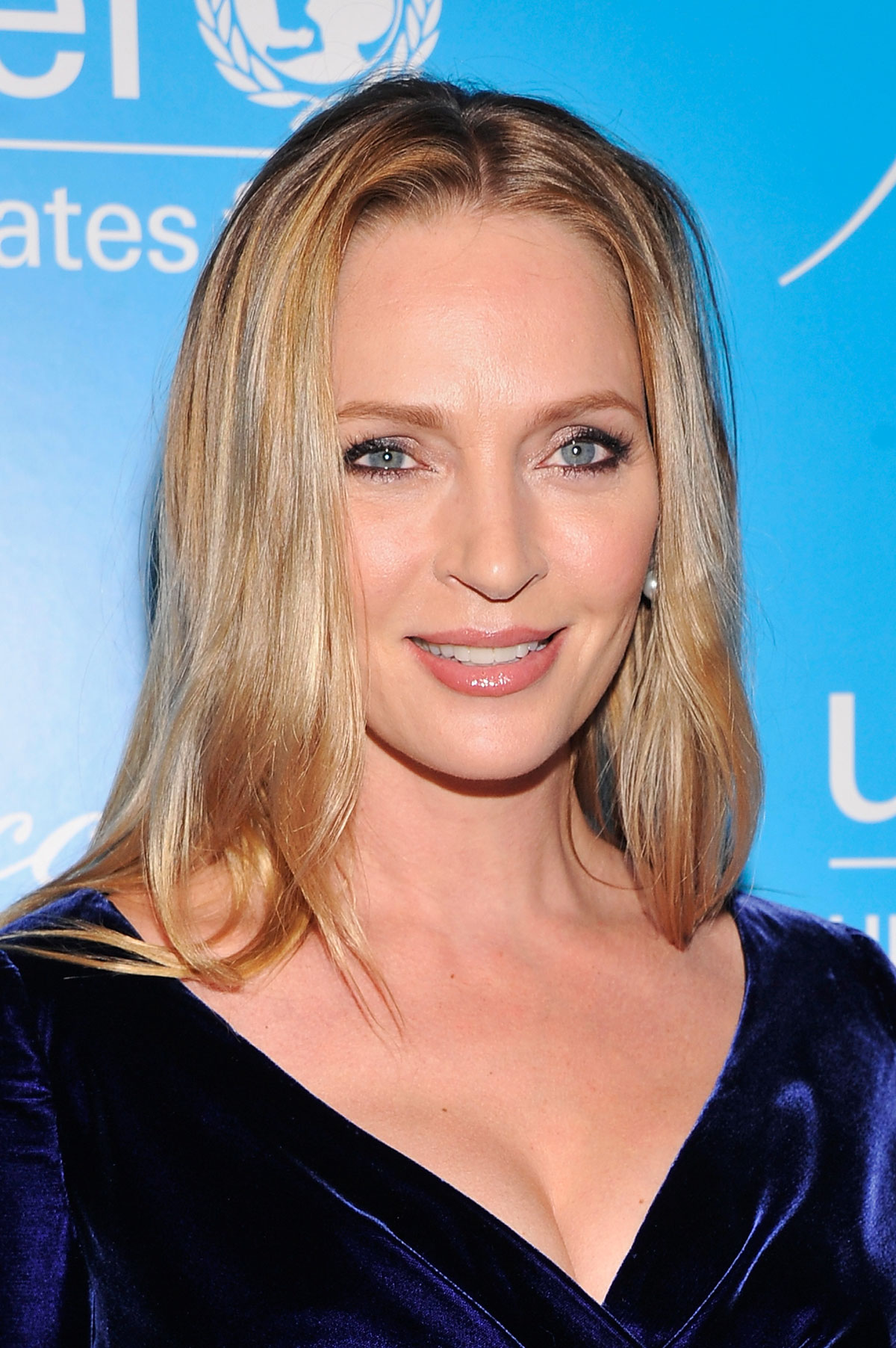 UMA THURMAN at Unicef SnowFlake Ball