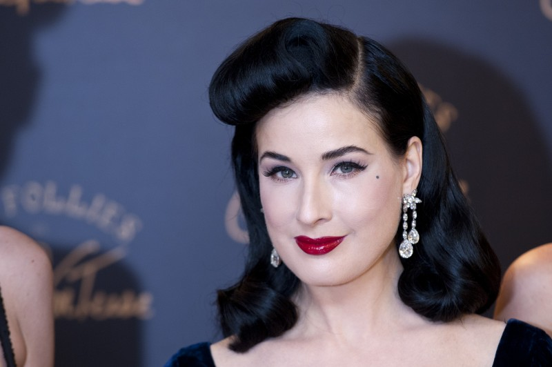 Dita Von Teese Launches Her New Lingerie Range At Debenhams