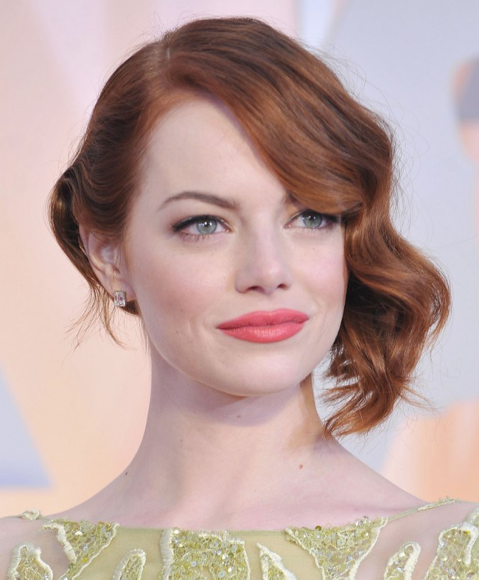 Emma Stone aveva un incarnato perfetto e naturalissimo alla cerimonia degli  Oscar! 328b4cb1c56