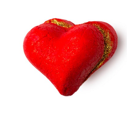 heart Throbe, spumante da bagno con burro di Karitè e oli essenziali