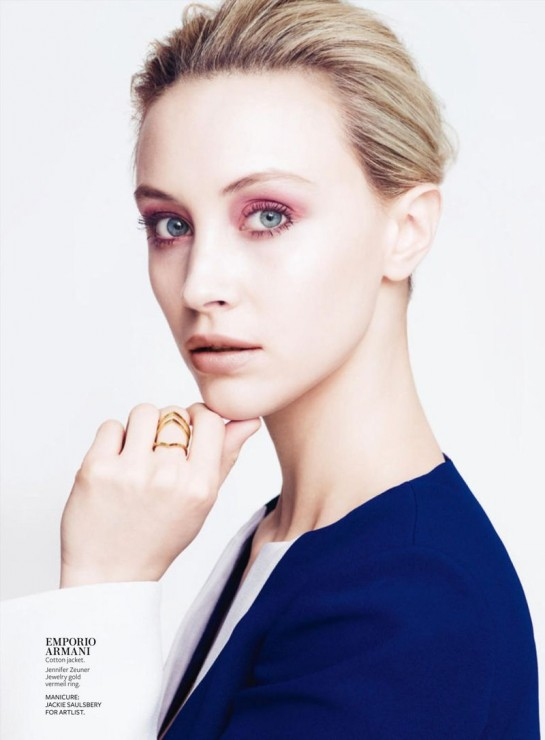 Sarah-Gadon-by-Maurizio-Bavutti-for-InStyle-US-March-2015-pink-545x740