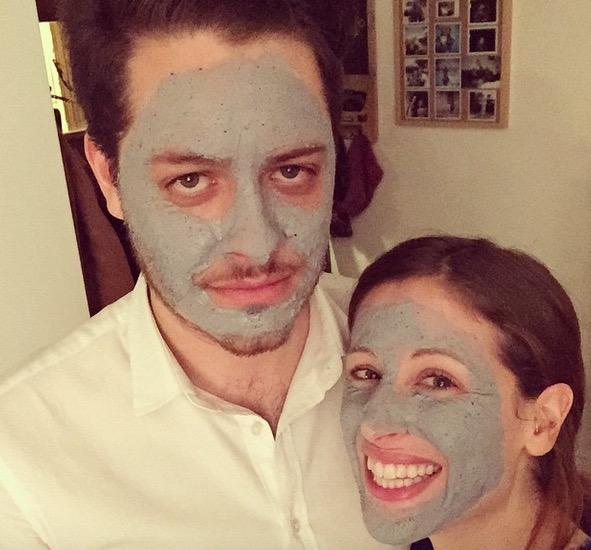 adora anche lui i trattamenti beauty.. facciamo a gara a chi passa più tempo in bagno! :D