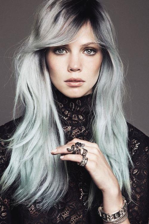 Granny Hair Lo Stravagante Trend Dei Capelli Grigi