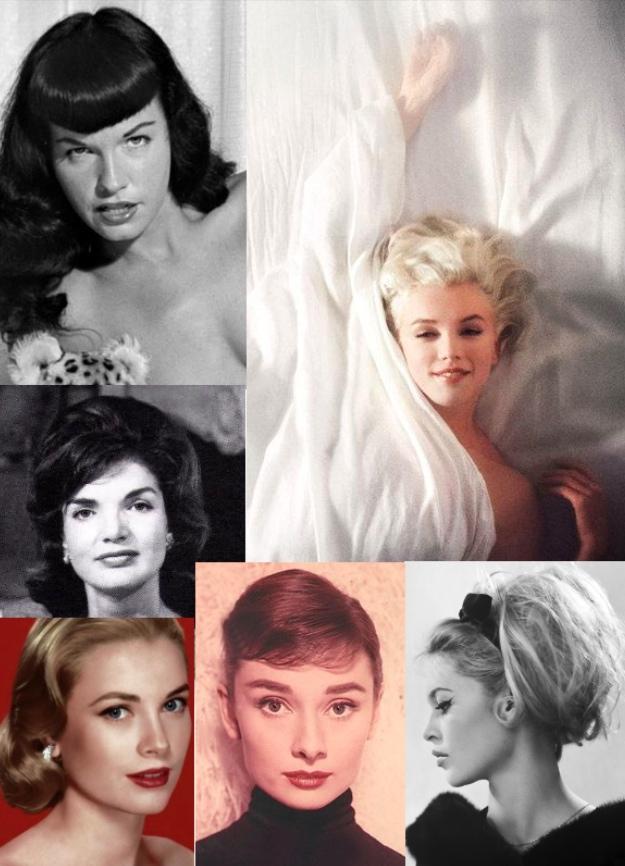 huge selection of bc2c4 c08bc Back to 50s: i capelli, il trucco e lo stile anni '50 che ...