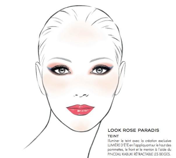 look rose paradis