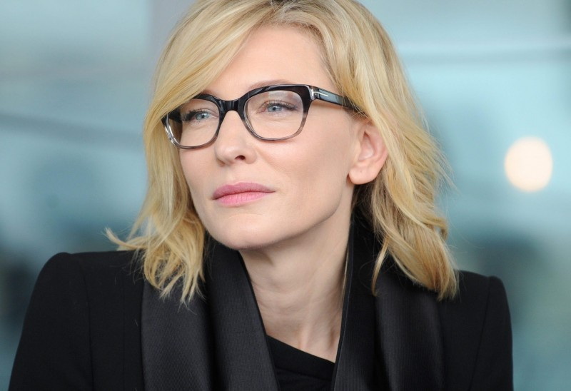 Cate Blanchett attends the partnership announcement between the Sydney Theatre Company and construction company Lend Lease