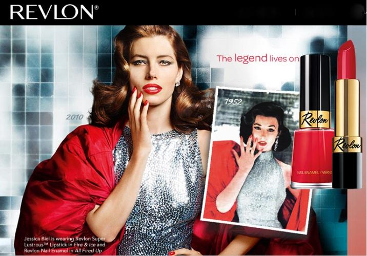 Per la precisione, è stato dato, qualche anno fa, a Jessica Biel il compito di riproporre la pubblicità del 1952 di questo rossetto iconico. Che dite, tiene testa alla testimonial dell'epoca?