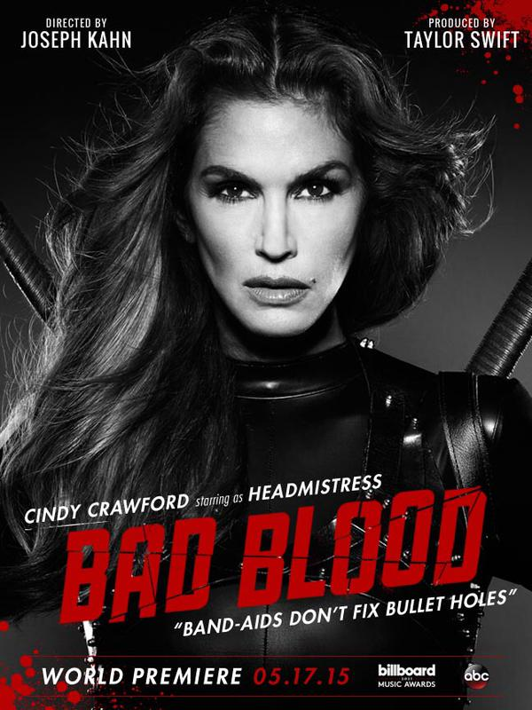 Taylor-Swift-Bad-Blood-Cindy-Crawford
