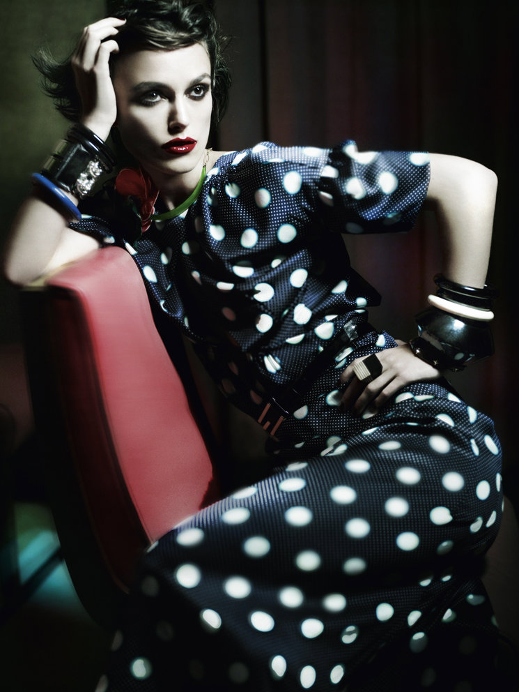 Keira Knightley for Vogue UK January 2011 by Mario Testino 5
