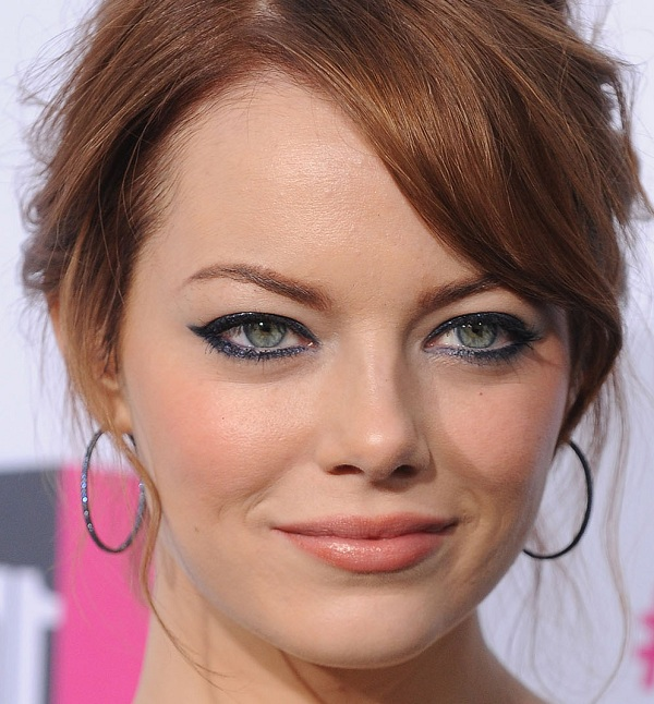 emma stone red carpet make up looks  4
