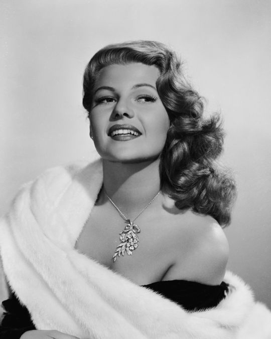 Rita Hayworth in 1952