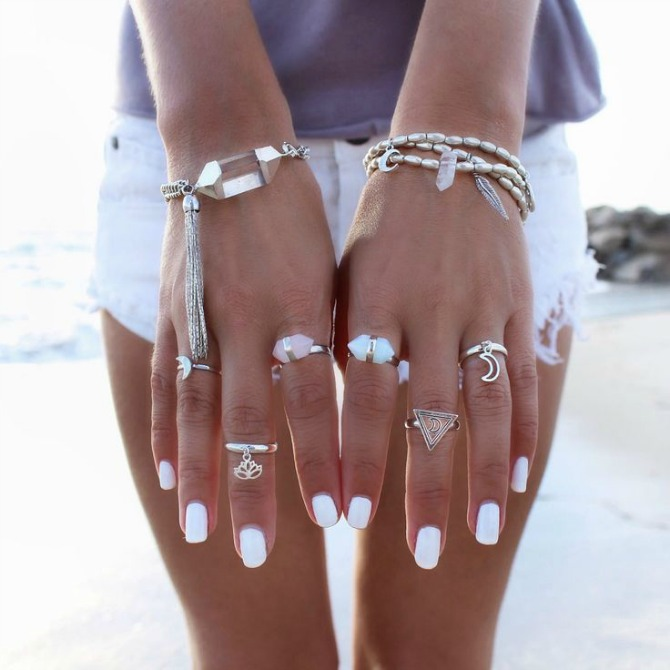 White-nail-polish-summer-trend-2015