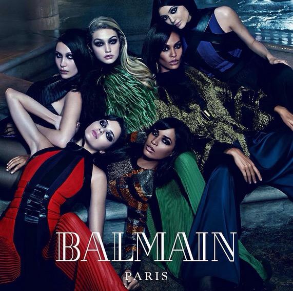 2f095154d5ab Sorelle celebri per la nuova campagna pubblicitaria di Balmain!