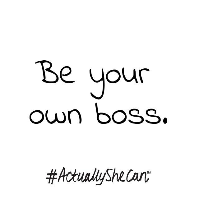 #actuallyshecan_boss