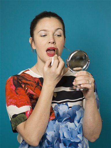 Drew Barrymore launches cosmetics line Flower