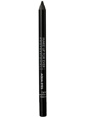 Makeup For Ever Aqua Eyes nel colore 0L Black