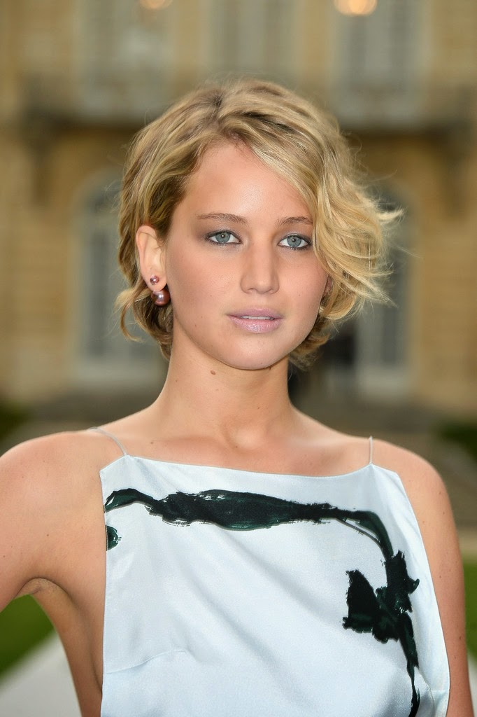 jennifer lawrence Front+Row+at+Christian+Dior+paris fasion week 2014 a
