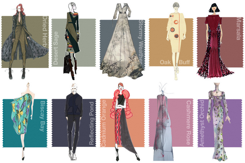 Pantone Fall 2015 Colors