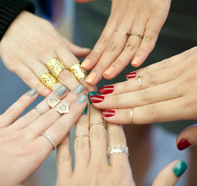 Molto I midi-rings: come portare e abbinare gli anelli sulle falangi  NS36