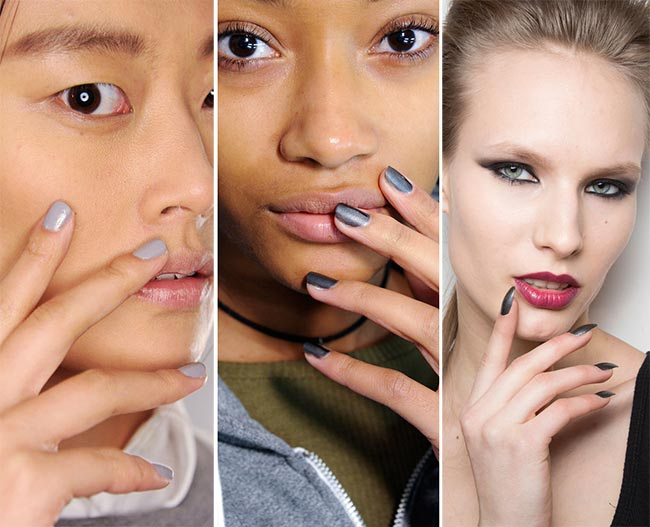 fall_winter_2015_2016_nail_trends_gray_nail_polish