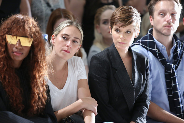 DKNY Women's - Front Row - Spring 2016 New York Fashion Week- The Shows