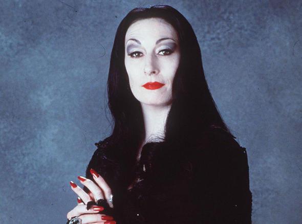 Morticia Addams Anjelica Huston