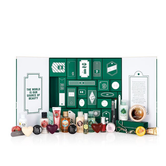 cliomakeup_calendari avvento 2015_The Body Shop 75€