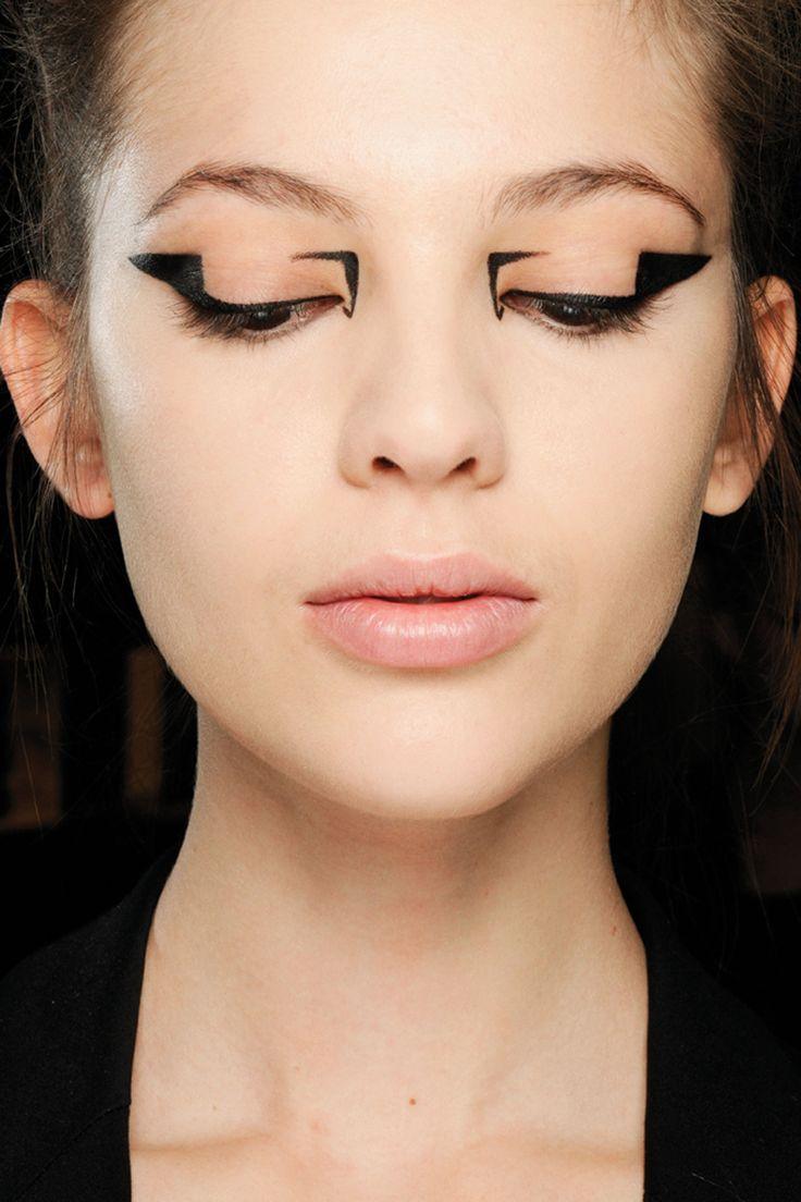 makeup by Val Garland. Mary Katranzou,
