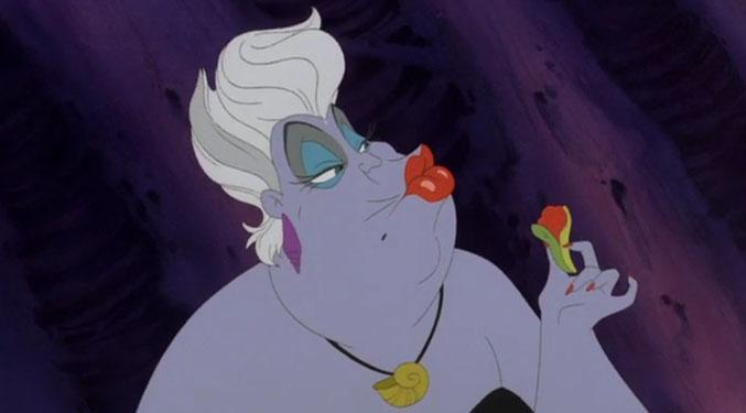 Ursula rossetto rosso, la Sirenetta