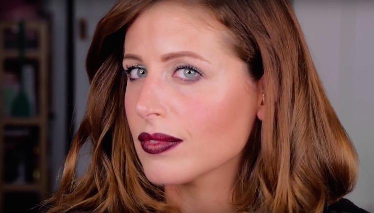 ClioMakeUp-Trucco-Natale-tutorial-smoky-smokey-argento-naked-clio-video-youtube 23.37.43