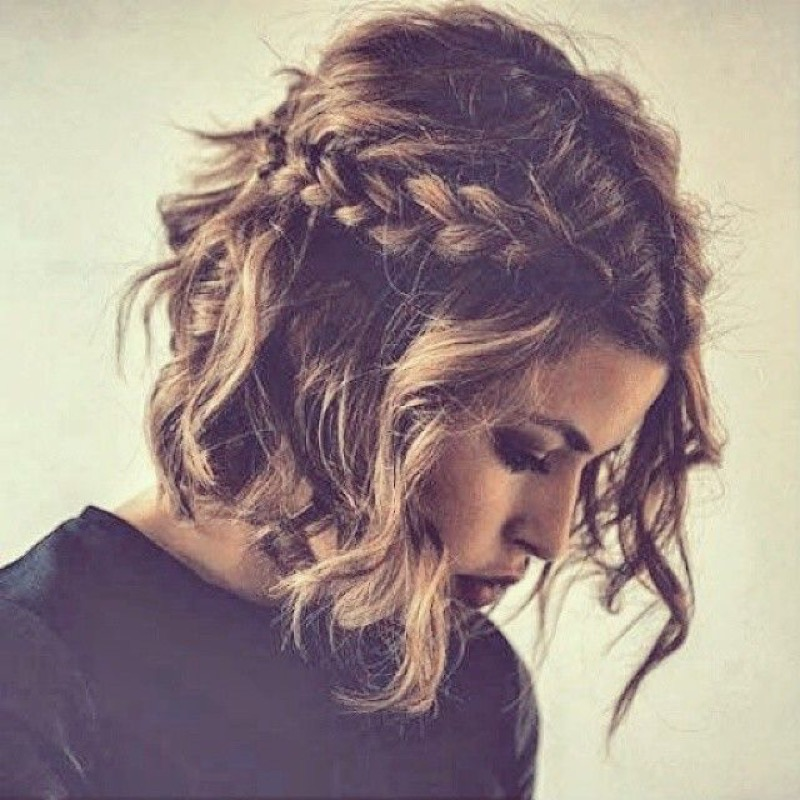 Cliomakeup,capelli,ricci,ricce,treccia