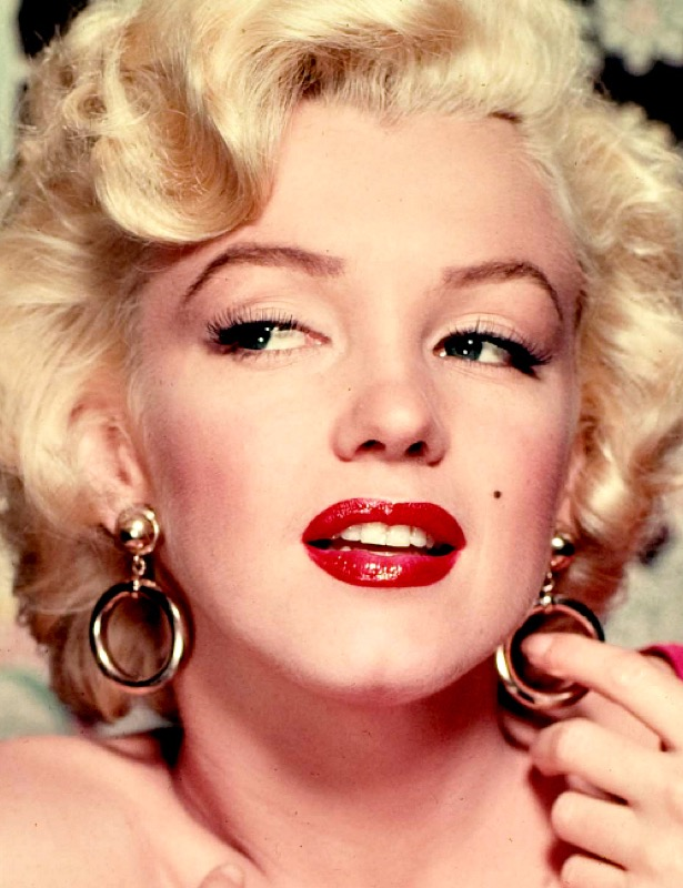 Marilyn Monroe rossetto rosso