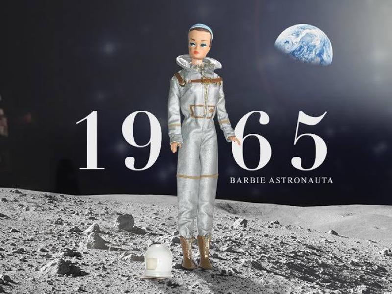 ClioMakeUp-Barbie-evoluzione-taglie-altezze-curvy-petite-tall-nuove-1965-astronauta