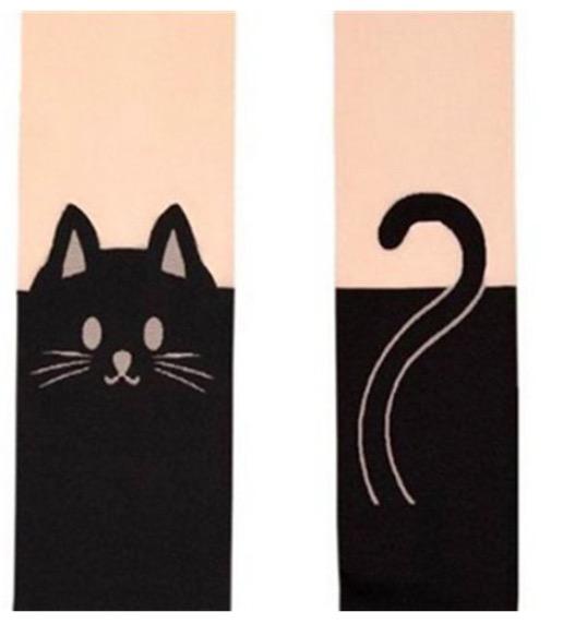 ClioMakeUp-collant-calze-pile-calde-lana-colorate-fantasia-parigine-gatto-gatti