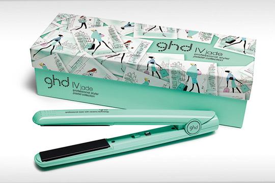 ClioMakeUp-piastra-capelli-lisci-migliori-ghd-verde-menta